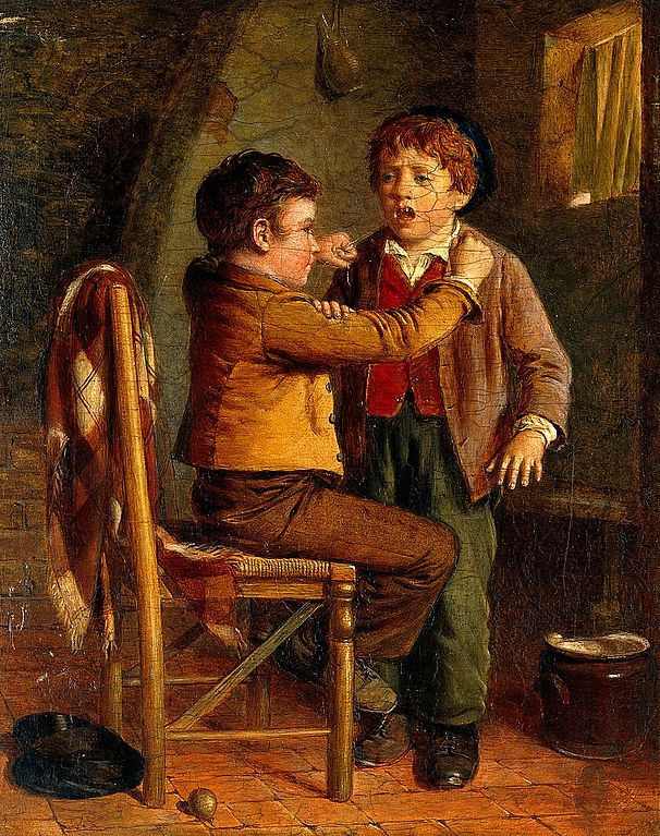 The_young_dentist._Oil_painting_by_William_Hemsley._Wellcome_V0017180.jpg